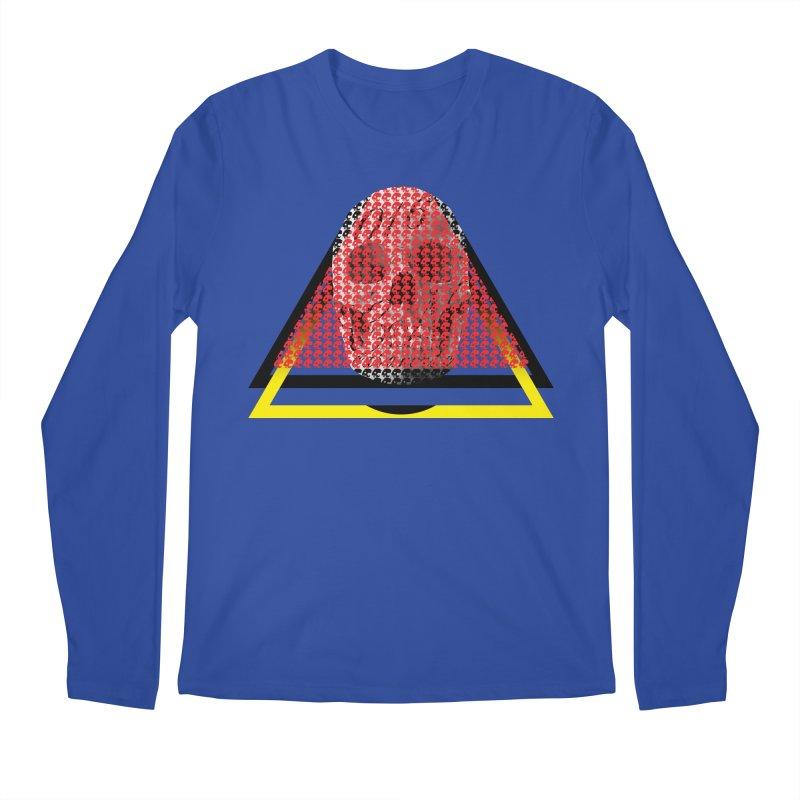 CasaNorte - TriSkull Men's Regular Longsleeve T-Shirt by CasaNorte's Artist Shop