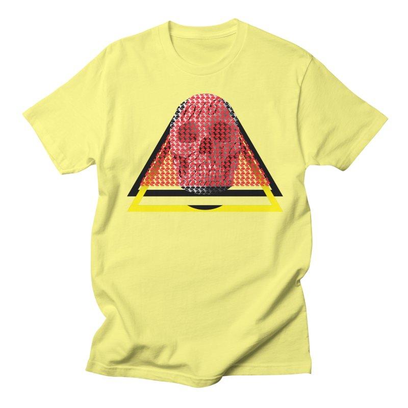 CasaNorte - TriSkull Men's Regular T-Shirt by CasaNorte's Artist Shop