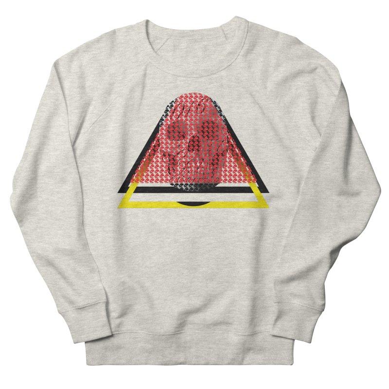 CasaNorte - TriSkull Men's French Terry Sweatshirt by CasaNorte's Artist Shop