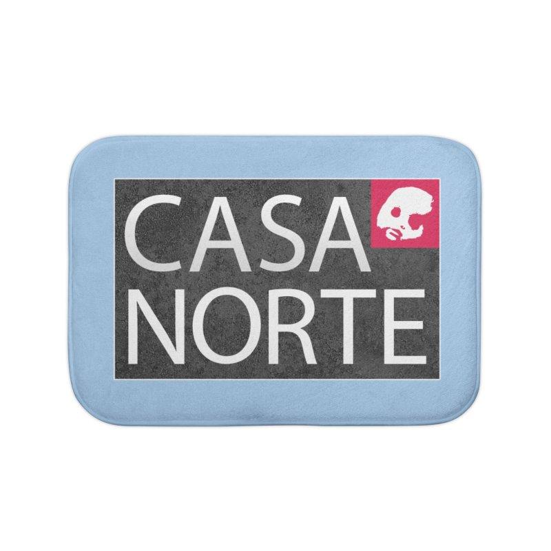 CasaNorte - Label Home Bath Mat by CasaNorte's Artist Shop