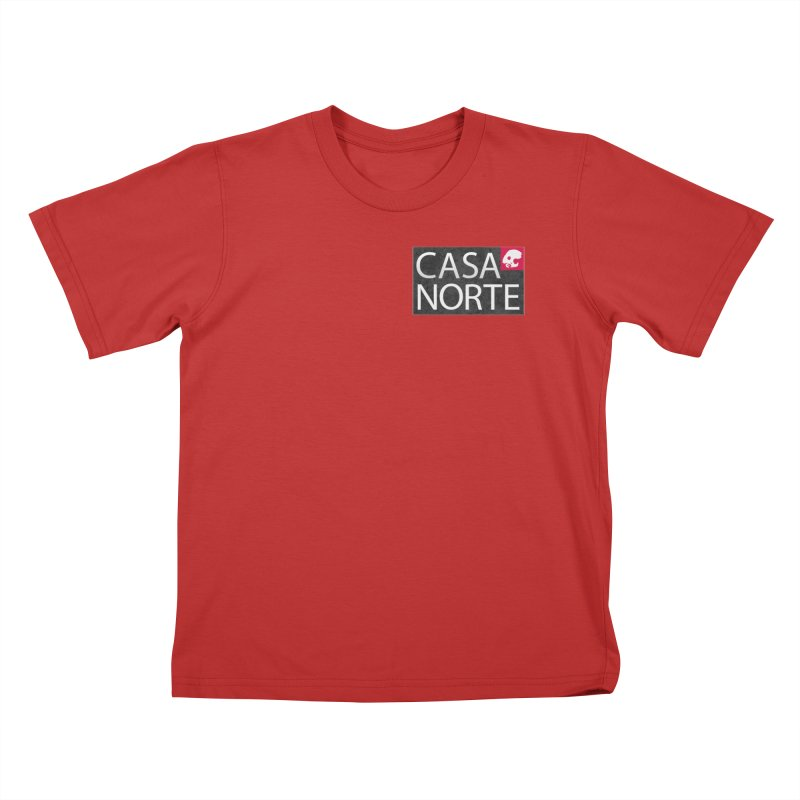 CasaNorte - Label Kids T-Shirt by CasaNorte's Artist Shop