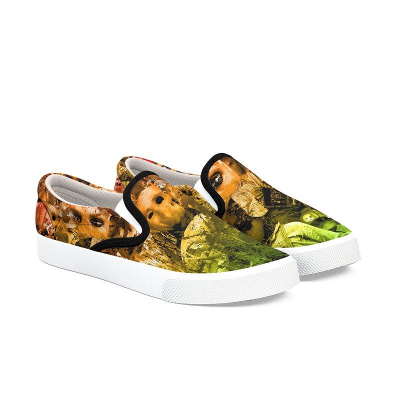 CasaNorte - Miksi Women's Slip-On Shoes by CasaNorte's Artist Shop