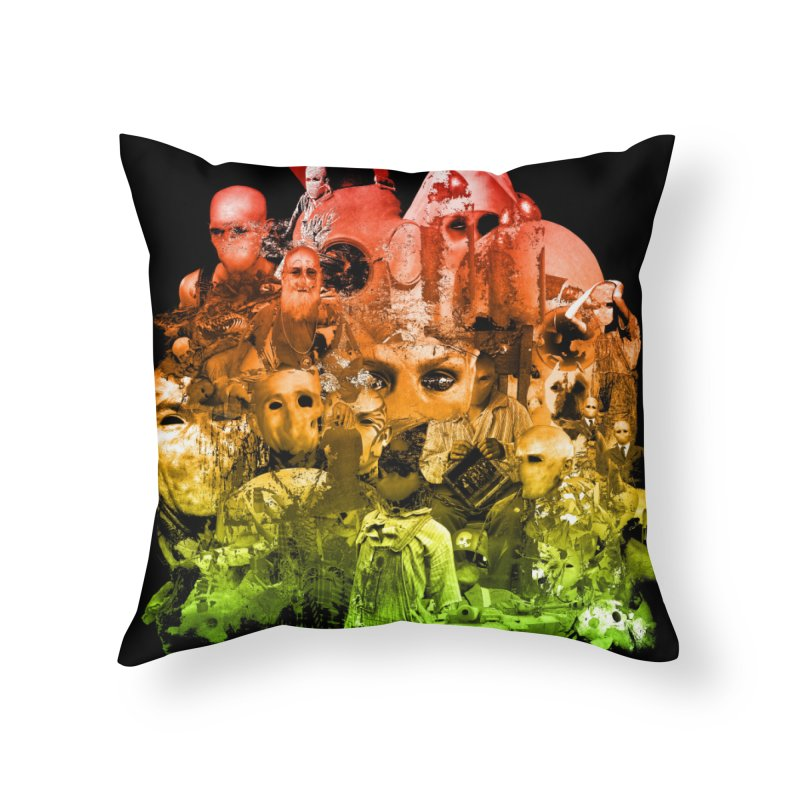CasaNorte - Miksi Home Throw Pillow by CasaNorte's Artist Shop