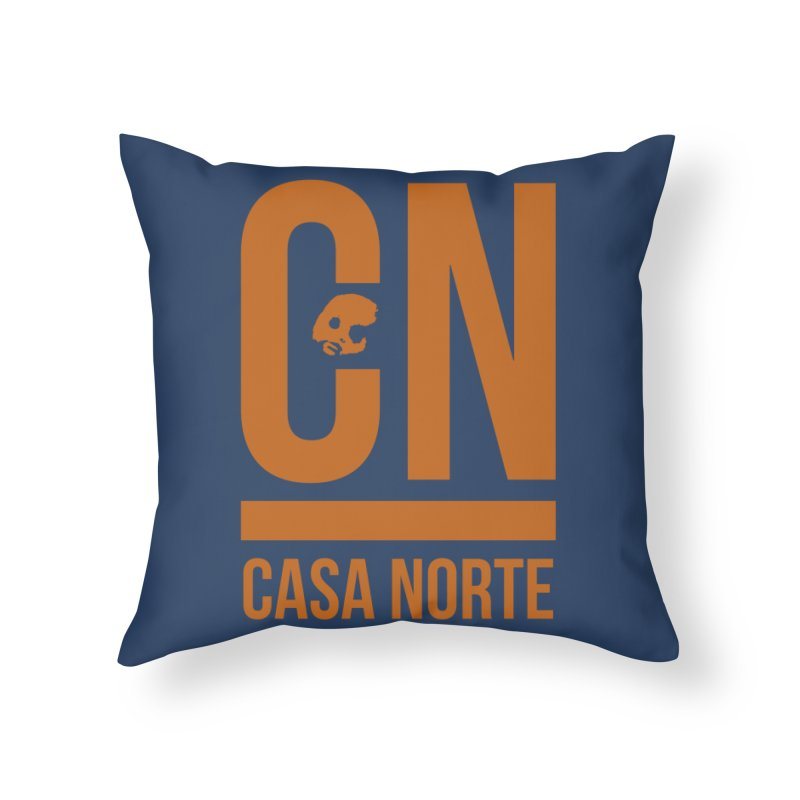 CasaNorte - CNMaple Home Throw Pillow by CasaNorte's Artist Shop