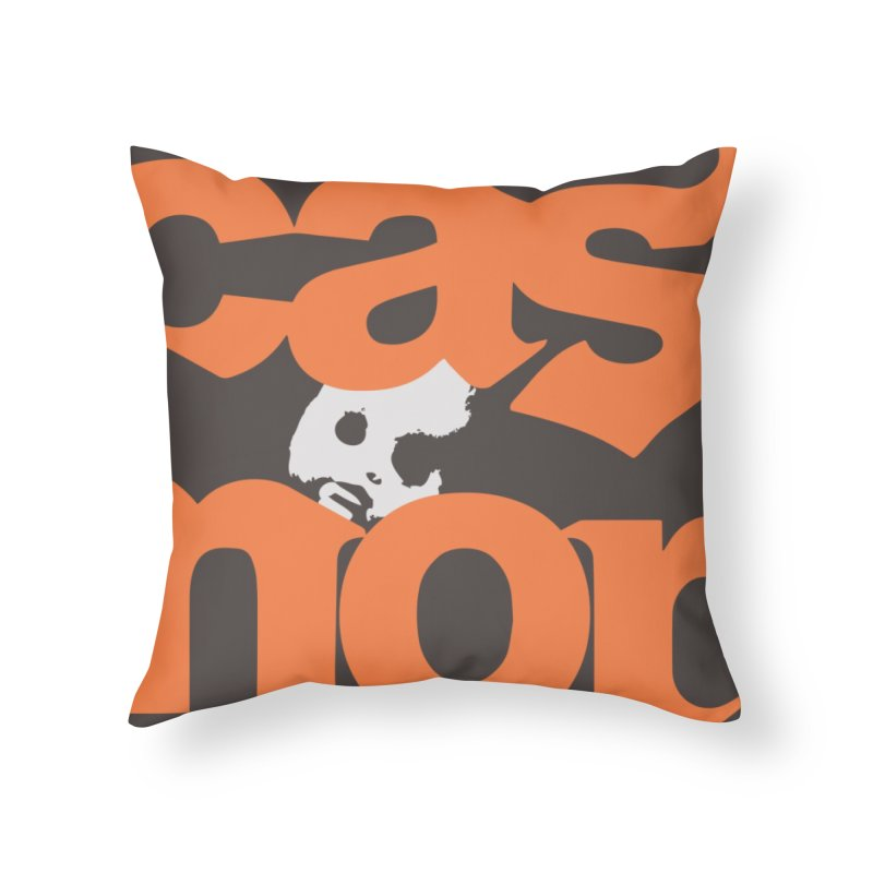 CasaNorte - 2CN Home Throw Pillow by CasaNorte's Artist Shop