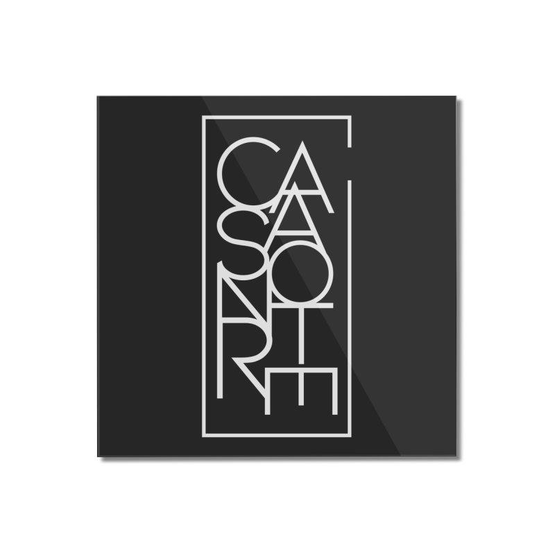CasaNorte - TeksTV Home Mounted Acrylic Print by CasaNorte's Artist Shop