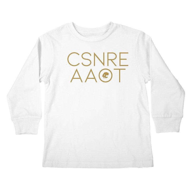 CasaNorte - TeksTK Kids Longsleeve T-Shirt by CasaNorte's Artist Shop