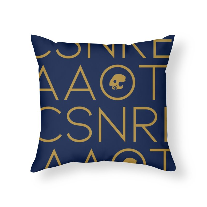CasaNorte - TeksTK Home Throw Pillow by CasaNorte's Artist Shop