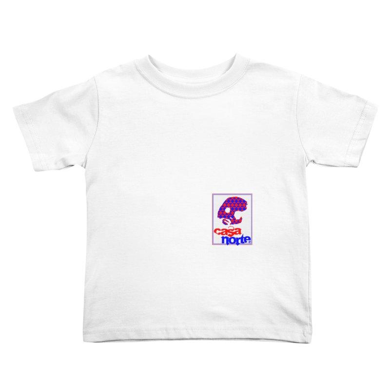 CasaNorte - PlayV Kids Toddler T-Shirt by CasaNorte's Artist Shop