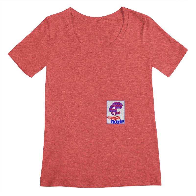 CasaNorte - PlayV Women's Regular Scoop Neck by CasaNorte's Artist Shop