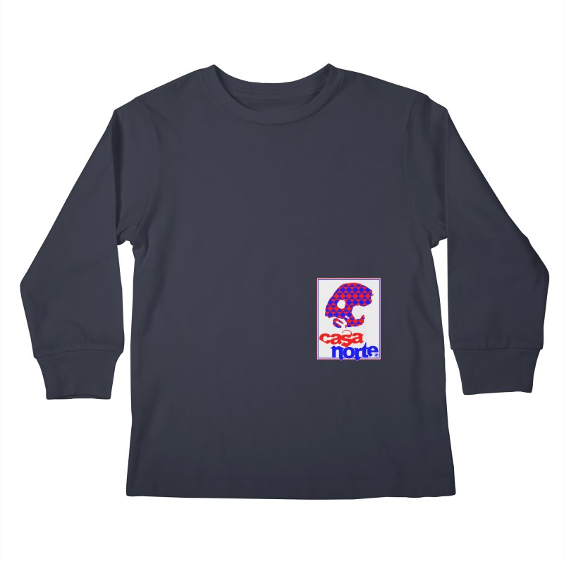CasaNorte - PlayV Kids Longsleeve T-Shirt by CasaNorte's Artist Shop