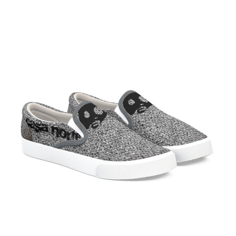 CasaNorte - WoolG Men's Slip-On Shoes by CasaNorte's Artist Shop