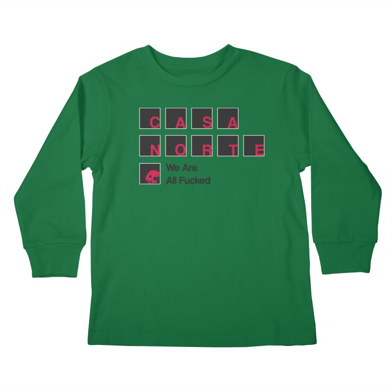 CasaNorte - BLetF Kids Longsleeve T-Shirt by CasaNorte's Artist Shop