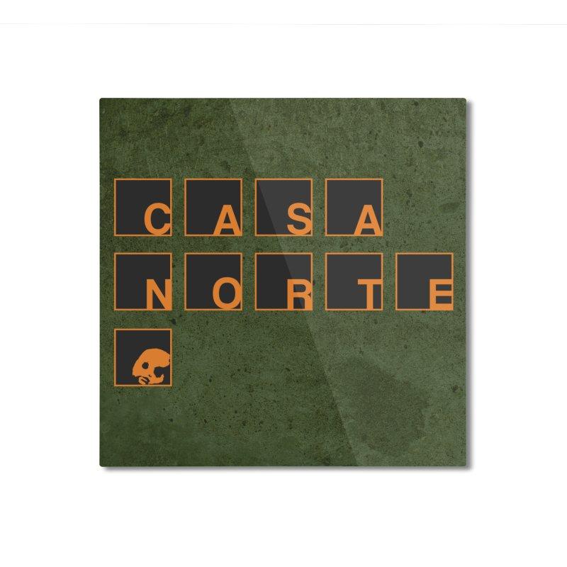 CasaNorte - BLetO Home Mounted Aluminum Print by CasaNorte's Artist Shop