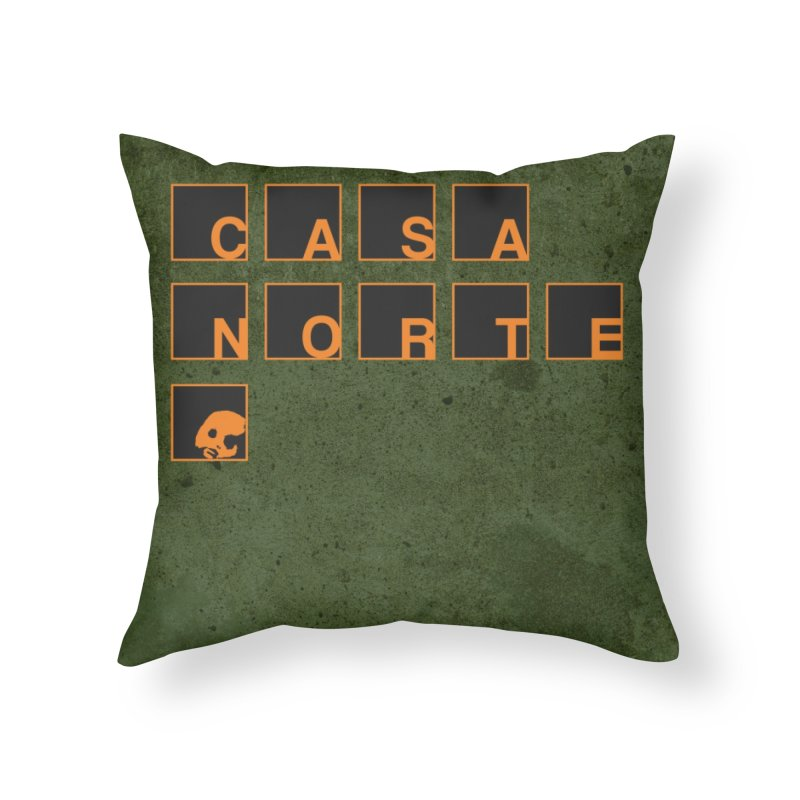 CasaNorte - BLetO Home Throw Pillow by CasaNorte's Artist Shop