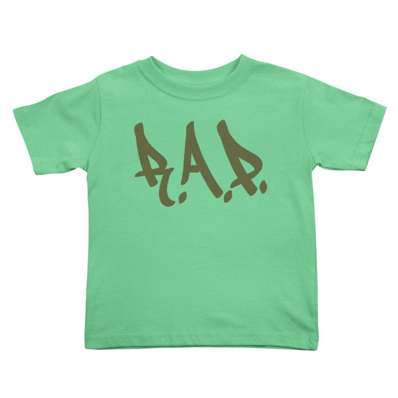 90s R.A.P. - Rap Kids Toddler T-Shirt by CasaNorte's Artist Shop
