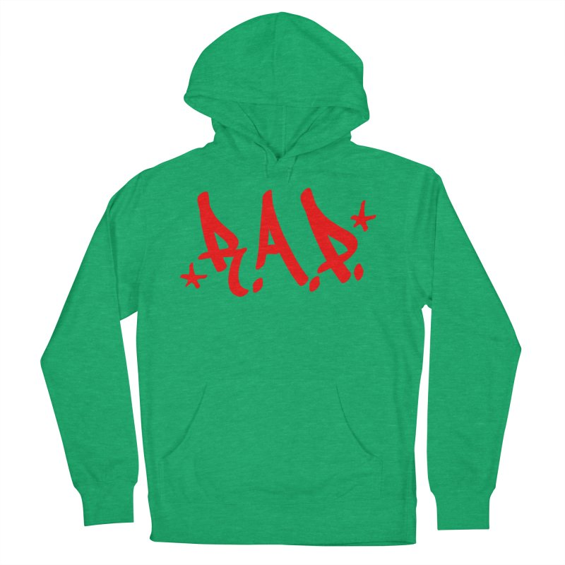 90s R.A.P. - RapRed Men's French Terry Pullover Hoody by CasaNorte's Artist Shop