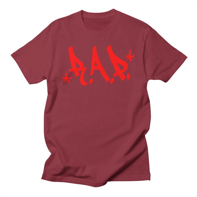 90s R.A.P. - RapRed Women's Regular Unisex T-Shirt by Casa Norte's Artist Shop