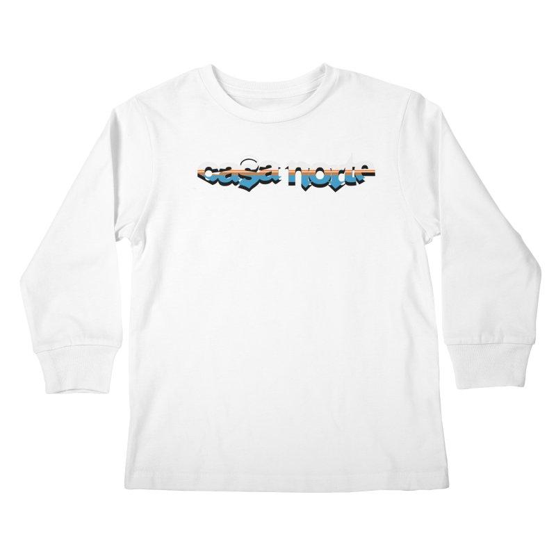 CasaNorte - CasaNorte9 Kids Longsleeve T-Shirt by CasaNorte's Artist Shop