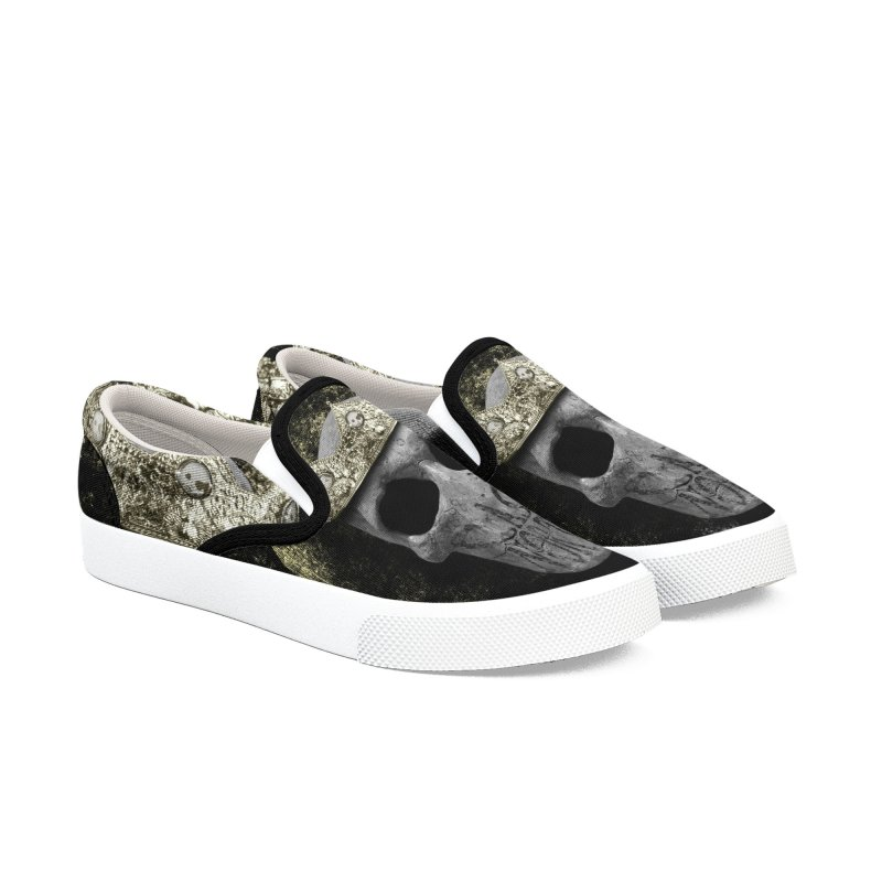 CasaNorte - Smile Women's Slip-On Shoes by Casa Norte's Artist Shop