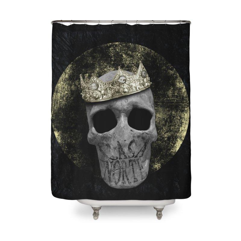 CasaNorte - Smile Home Shower Curtain by CasaNorte's Artist Shop