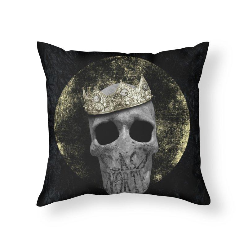 CasaNorte - Smile Home Throw Pillow by CasaNorte's Artist Shop