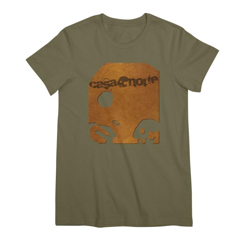 CasaNorte - Leather Women's Premium T-Shirt by CasaNorte's Artist Shop