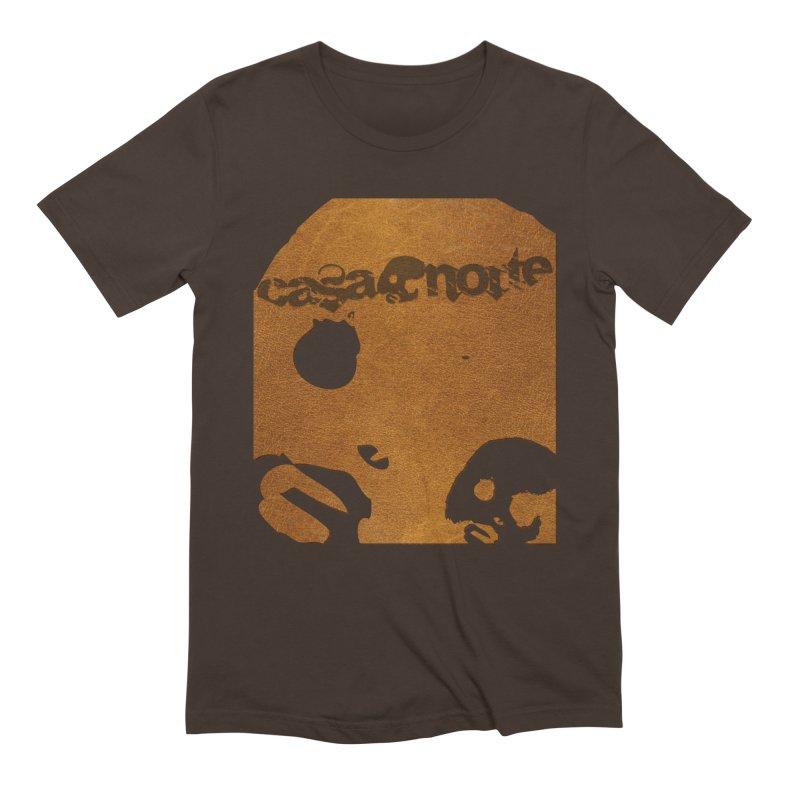 CasaNorte - Leather Men's Extra Soft T-Shirt by CasaNorte's Artist Shop