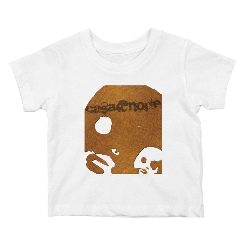 CasaNorte - Leather Kids Baby T-Shirt by CasaNorte's Artist Shop
