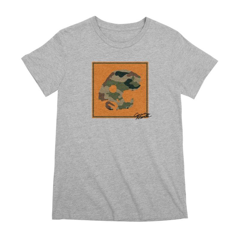 CasaNorte - Orange Women's Premium T-Shirt by CasaNorte's Artist Shop