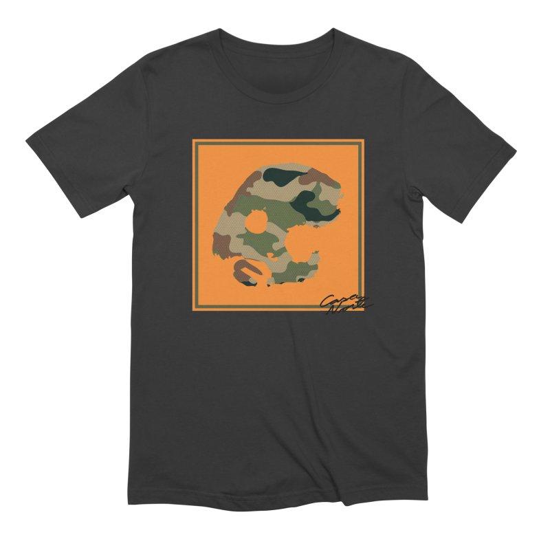 CasaNorte - Orange Men's Extra Soft T-Shirt by CasaNorte's Artist Shop