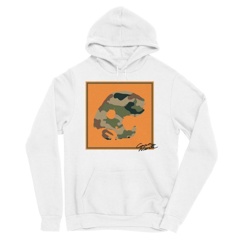 CasaNorte - Orange Men's Sponge Fleece Pullover Hoody by CasaNorte's Artist Shop