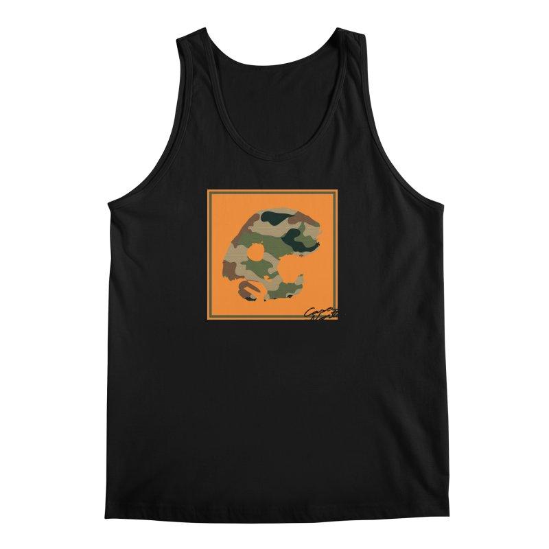 CasaNorte - Orange Men's Regular Tank by CasaNorte's Artist Shop