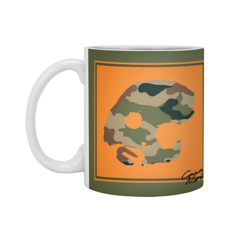 CasaNorte - Orange Accessories Mug by CasaNorte's Artist Shop