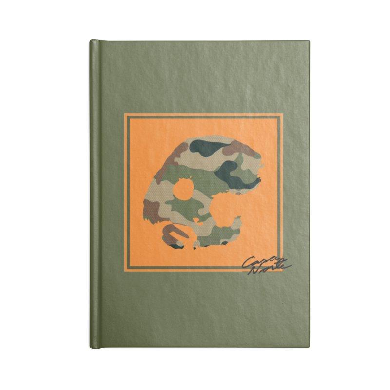 CasaNorte - Orange Accessories Notebook by CasaNorte's Artist Shop