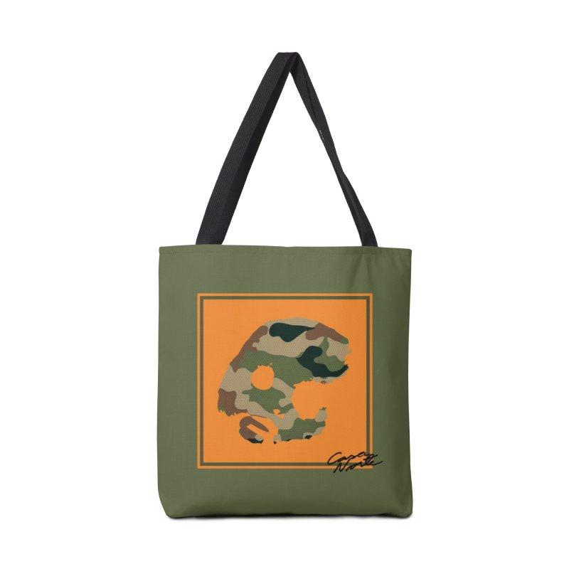 CasaNorte - Orange Accessories Bag by CasaNorte's Artist Shop