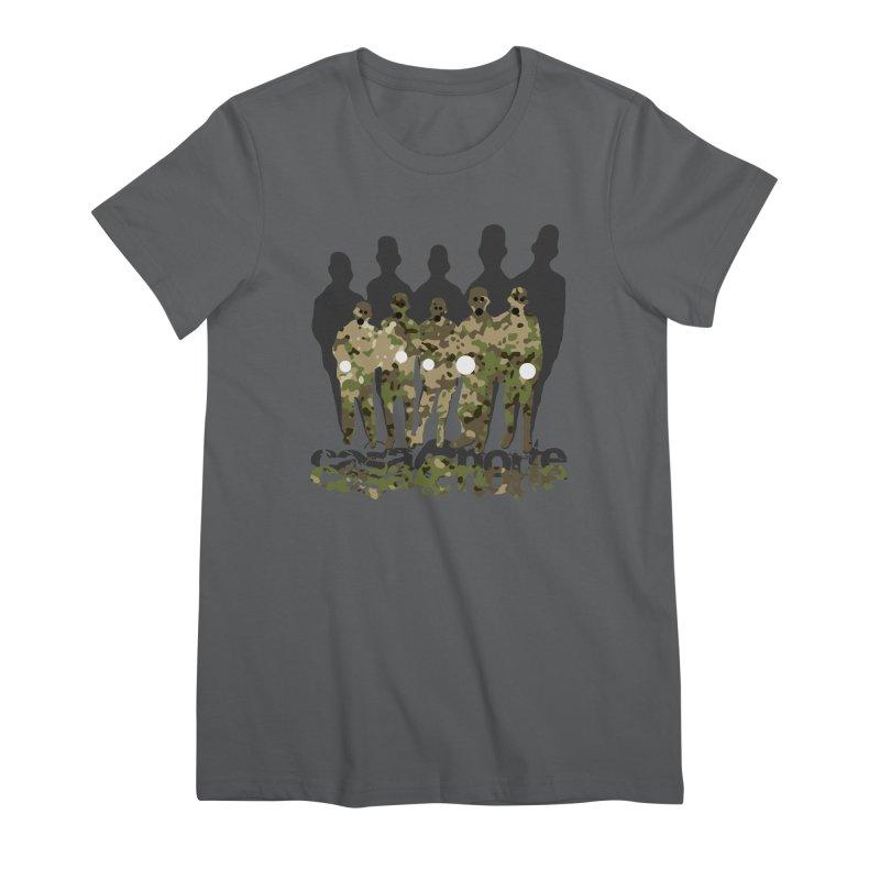 CasaNorte - CamoWatchmen Women's Premium T-Shirt by CasaNorte's Artist Shop