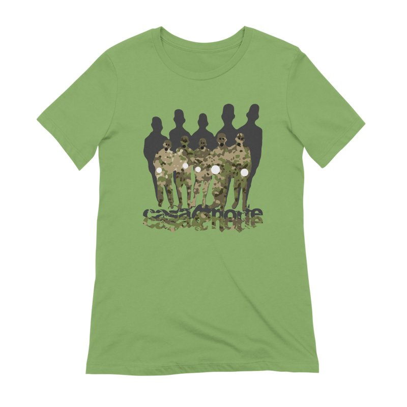 CasaNorte - CamoWatchmen Women's Extra Soft T-Shirt by Casa Norte's Artist Shop