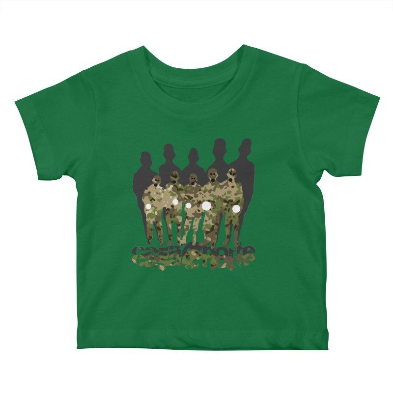 CasaNorte - CamoWatchmen Kids Baby T-Shirt by CasaNorte's Artist Shop