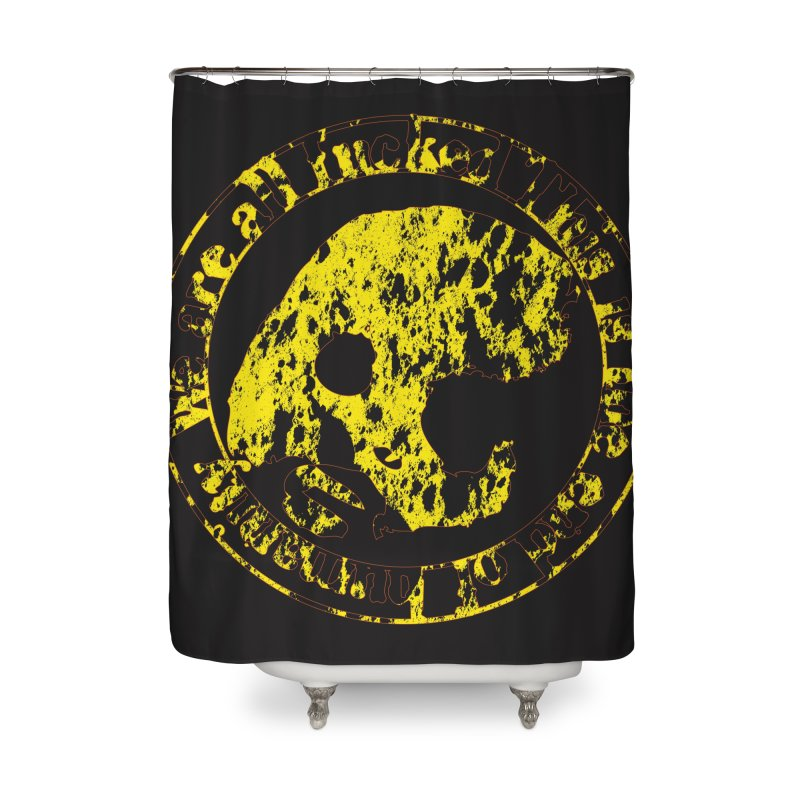 CasaNorte - FckdRust Home Shower Curtain by CasaNorte's Artist Shop