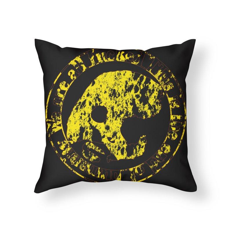 CasaNorte - FckdRust Home Throw Pillow by CasaNorte's Artist Shop
