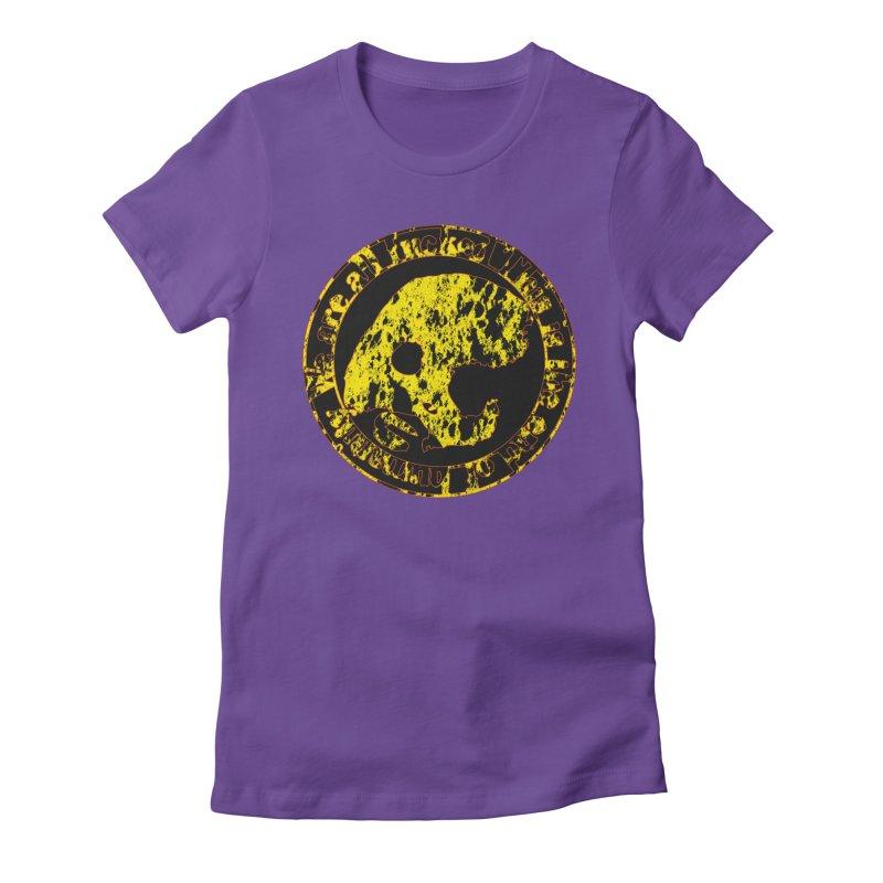 CasaNorte - FckdRust Women's Fitted T-Shirt by CasaNorte's Artist Shop