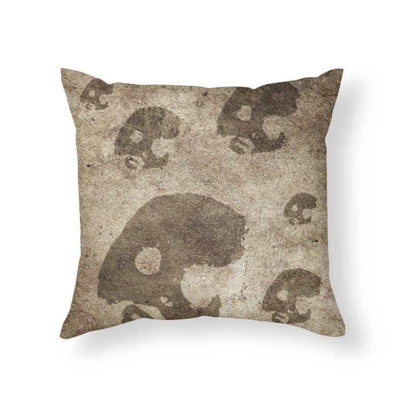 CasaNorte - Cave Home Throw Pillow by CasaNorte's Artist Shop