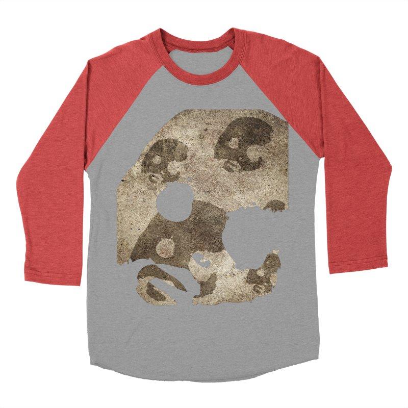 CasaNorte - Cave Men's Baseball Triblend Longsleeve T-Shirt by CasaNorte's Artist Shop