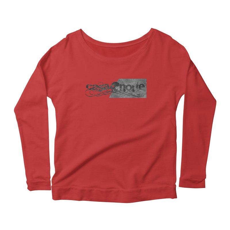 CasaNorte - CasaNorte7B Women's Scoop Neck Longsleeve T-Shirt by CasaNorte's Artist Shop