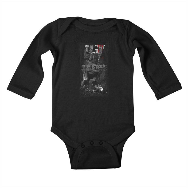 CasaNorte - Nojaus Kids Baby Longsleeve Bodysuit by CasaNorte's Artist Shop