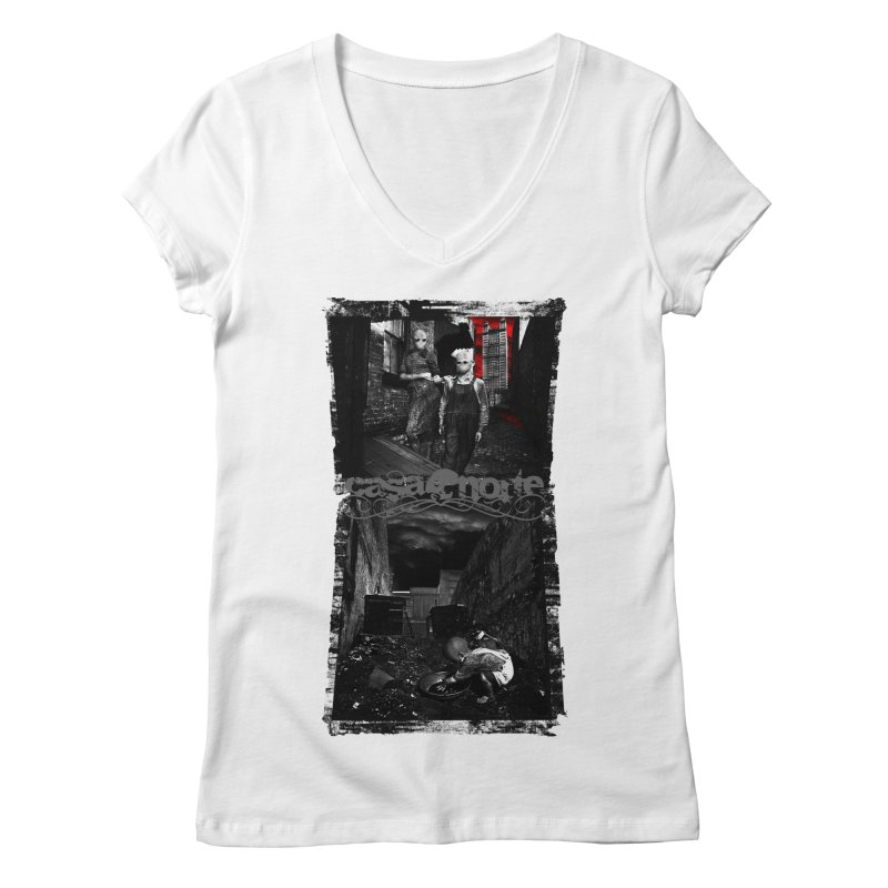 CasaNorte - Nojaus Women's Regular V-Neck by CasaNorte's Artist Shop