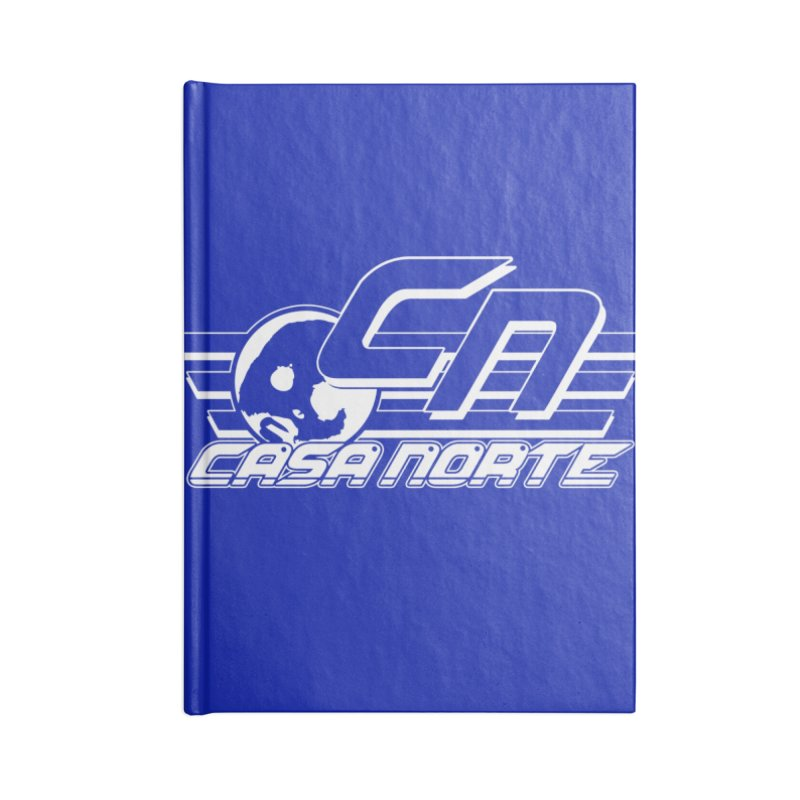 CasaNorte - CNCasa Accessories Blank Journal Notebook by Casa Norte's Artist Shop