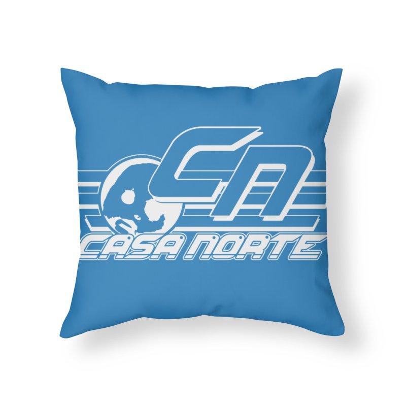 CasaNorte - CNCasa Home Throw Pillow by CasaNorte's Artist Shop