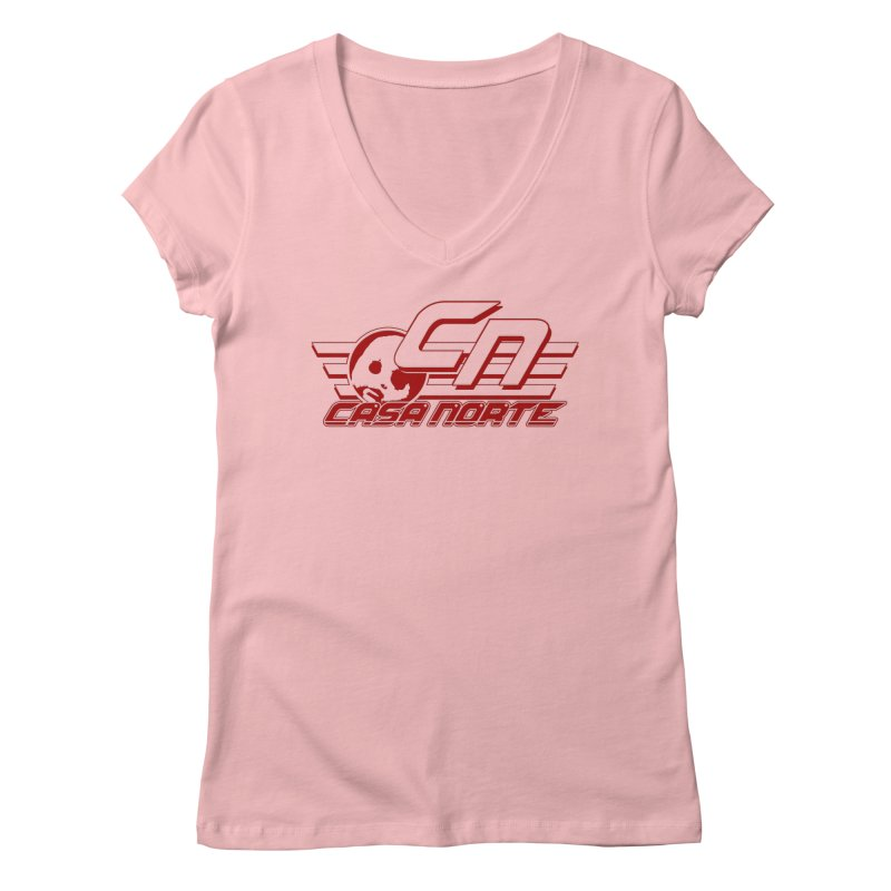 CasaNorte - CNCasaV Women's Regular V-Neck by CasaNorte's Artist Shop